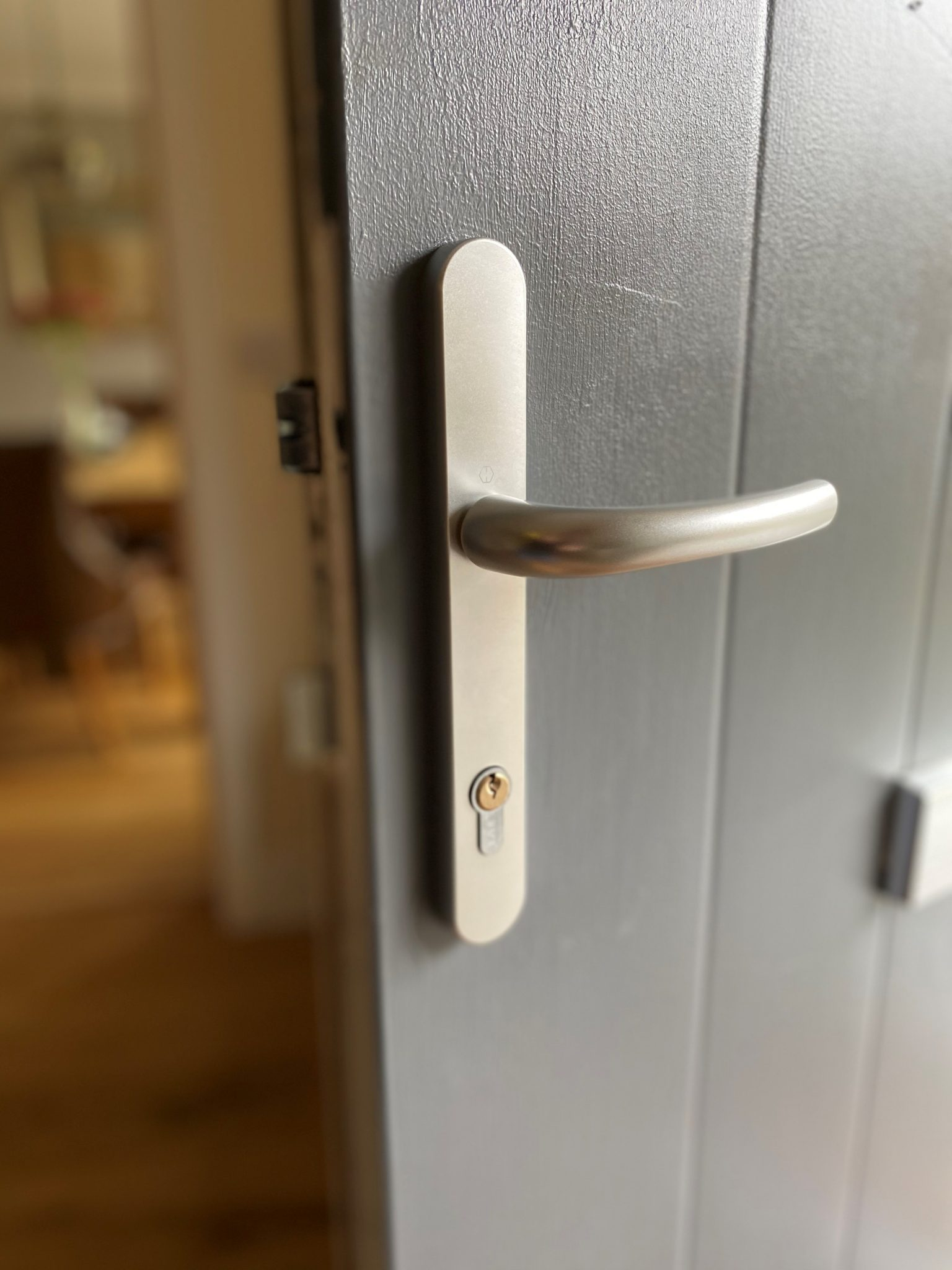 Replace the lock, not the door